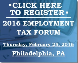 Employment Tax Forum Button